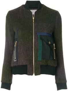 приталенная куртка с карманами с клапанами  Kolor