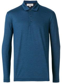 рубашка-поло с длинными рукавами Canali