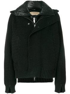 трикотажная куртка бомбер Burberry