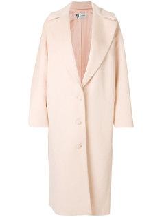 классическое однобортное пальто Lanvin