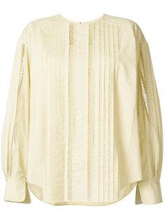 блузка с отделкой  Chloé