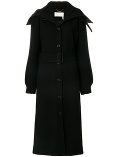 пальто на пуговицах с поясом  Chloé