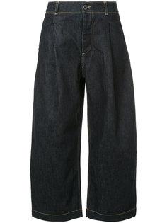 укороченные широкие джинсы Studio Nicholson