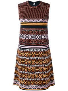 платье А-образного силуэта с узором M Missoni
