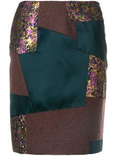 лоскутная юбка-карандаш Kolor