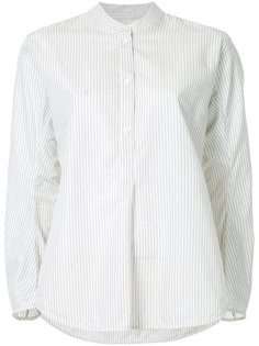 рубашка в полоску с закругленным подолом Studio Nicholson