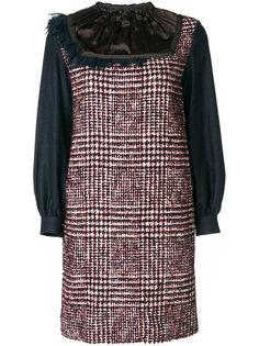 платье-шифт с панельным дизайном Kolor