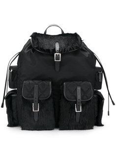 рюкзак со сборкой Prada