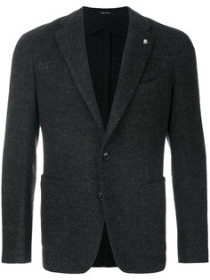 пиджак с накладными карманами Tagliatore