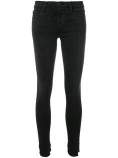 джинсы скинни с заниженной талией  Frame Denim