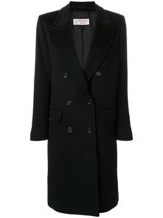свободное двубортное пальто  Alberto Biani
