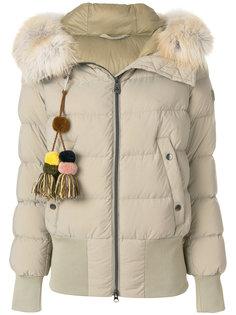 дутая куртка с кисточками  Peuterey