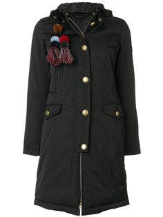 пальто с кисточками  Peuterey