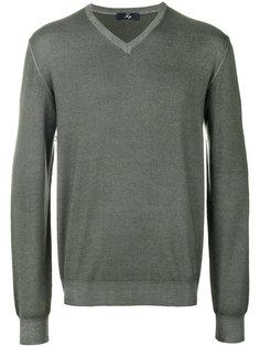 свитер с V-образным вырезом Fay