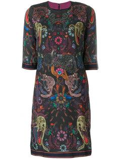 платье шифт с принтом Paul Smith