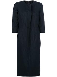 платье в полоску с укороченными рукавами Comme Des Garçons Comme Des Garçons