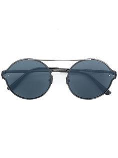круглые солнцезащитные очки Bottega Veneta Eyewear