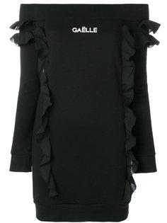 платье с открытыми плечами Gaelle Bonheur