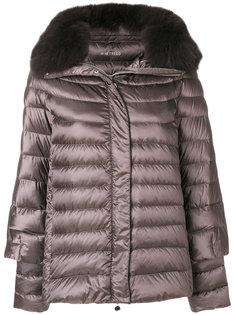куртка-пуховик с меховой отделкой Hetregò