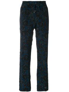 спортивные брюки с принтом Kenzo