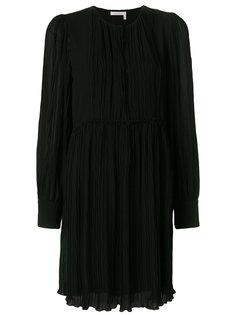 жатое платье мини See By Chloé