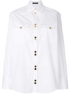 рубашка с декоративными пуговицами Balmain