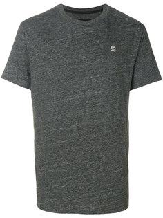 футболка с вышивкой логотипа G-Star