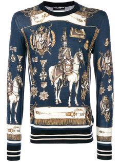 свитер с принтом Dolce & Gabbana