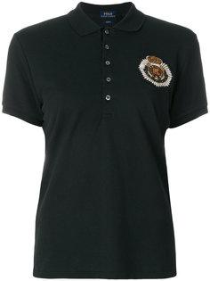 рубашка-поло кроя слим с вышивкой Polo Ralph Lauren