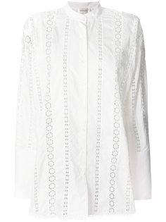 рубашка с вышивкой Zimmermann