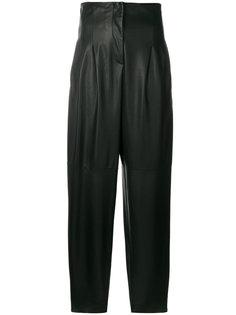 зауженные брюки с завышенной талией Erika Cavallini