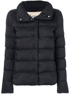 куртка-пуховик с высокой горловиной Herno