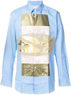 рубашка с аппликацией Comme Des Garçons Shirt