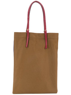 двухцветная сумка-шоппер Marni