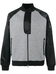 куртка бомбер с аппликацией Ea7 Emporio Armani