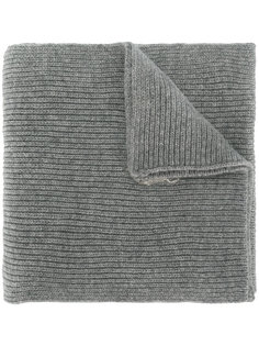 шарф в рубчик с логотипом Polo Ralph Lauren