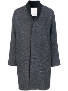 пальто с узором тартан Stephan Schneider