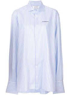 рубашка с вышивкой логотипа Misbhv
