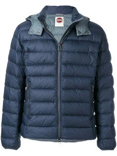 стеганая куртка с логотипом Colmar
