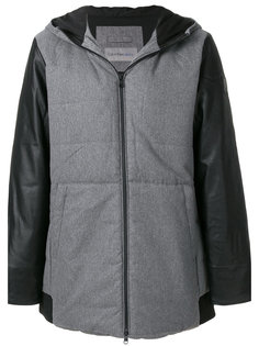 стеганое пальто с капюшоном Calvin Klein Jeans