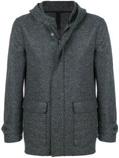 приталенное пальто на молнии Harris Wharf London
