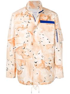 пальто Desert Storm с камуфляжным принтом Soulland