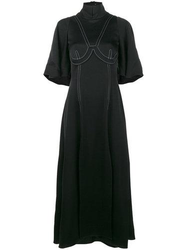 платье 'Noble' с высокой горловиной и короткими рукавами Ellery