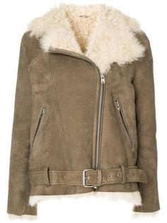 куртка с цигейкой и поясом  Iro