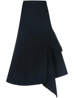асимметричная юбка Victoria Beckham