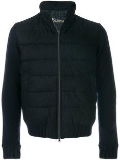 куртка со стегаными панелями Herno
