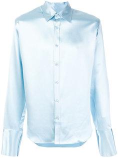 атласная рубашка  Martine Rose
