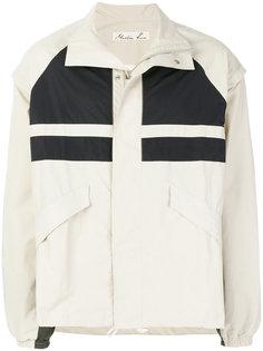 спортивная куртка со вставками  Martine Rose
