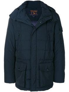 стеганое пальто с капюшоном Woolrich