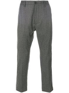укороченные брюки с лампасами Pence